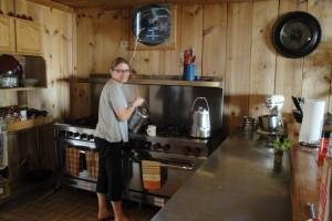 glamping kitchen